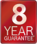 8 Year Guarantee